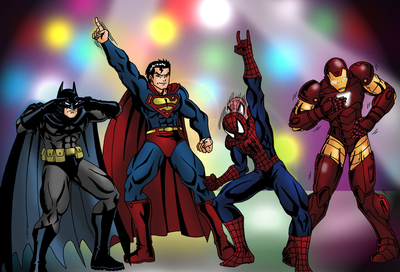 Superhero Danceoff